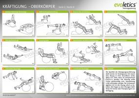 Übungskarte Kräftigung - Oberkörper