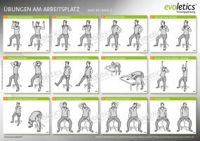 Übungskarte Übungen am Arbeitsplatz