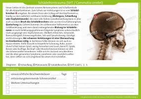 Therapiekarte Schädelhirntrauma